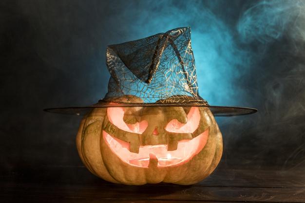Halloweenpynt til festen